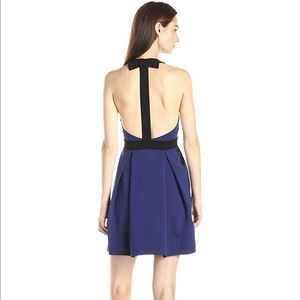Jill by Jill Stuart Crepe T Back Bow Dress